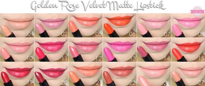 GR matte lips