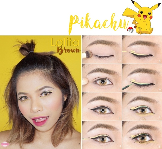 pikachu look